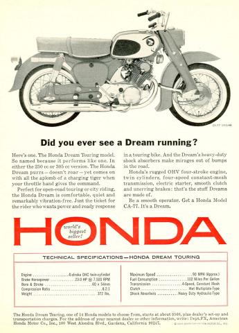 DREAM 305 HONDA