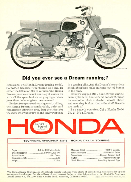 DREAM 305 HONDA