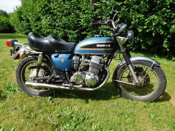 HONDA 750 BLEU BIS
